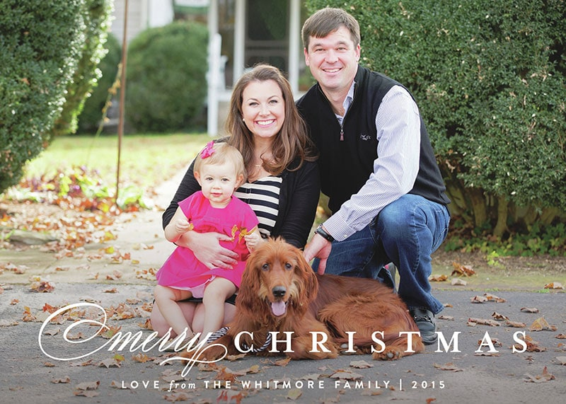 My Christmas Cards + $300 Minted.com Giveaway!