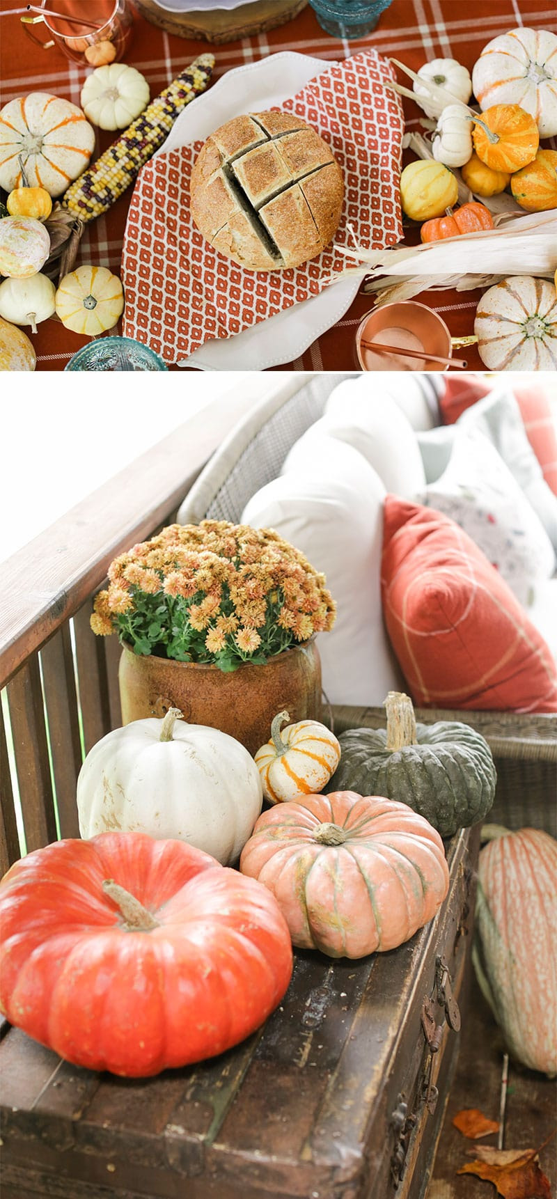 Fall Party Tablescape Details