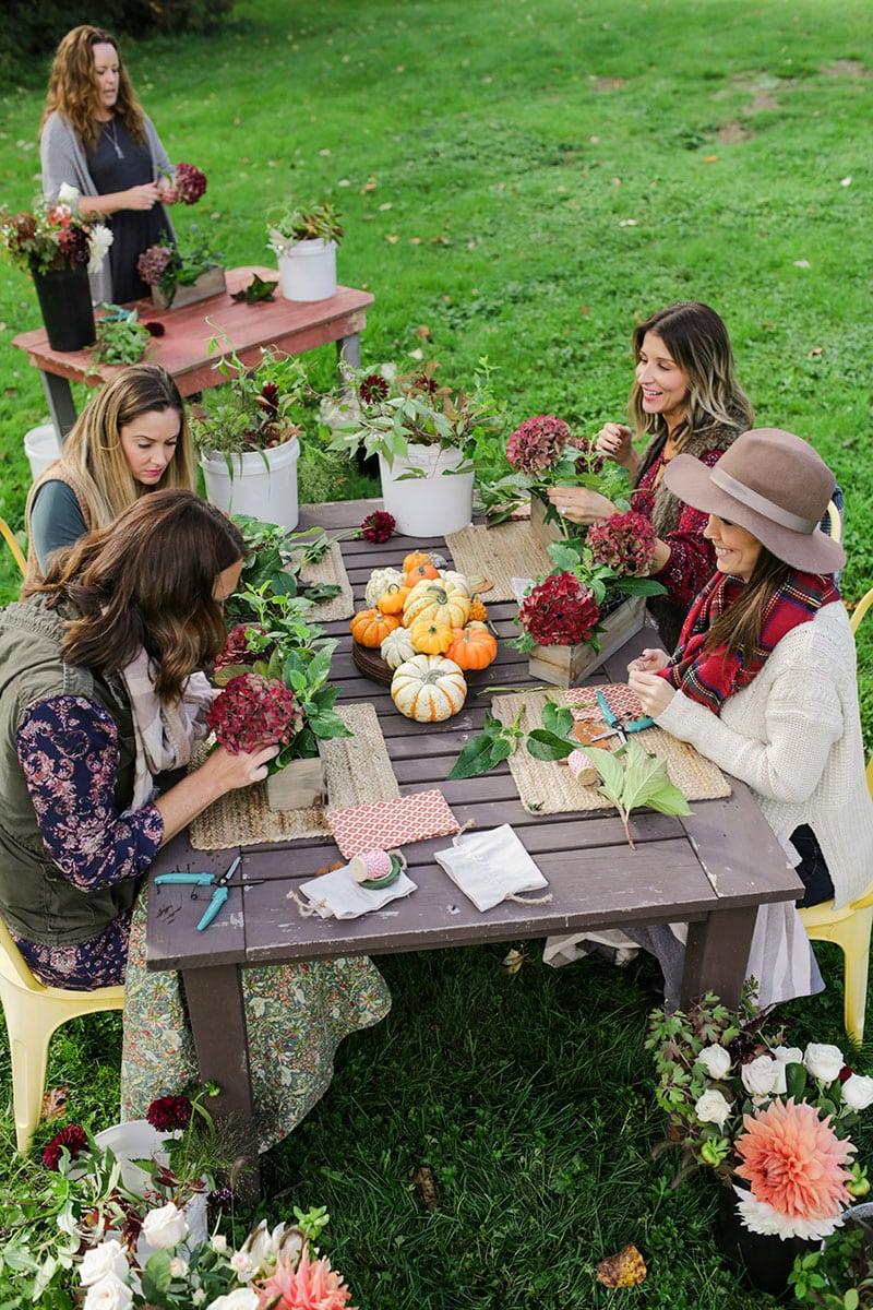 Host a Flower Arranging Class