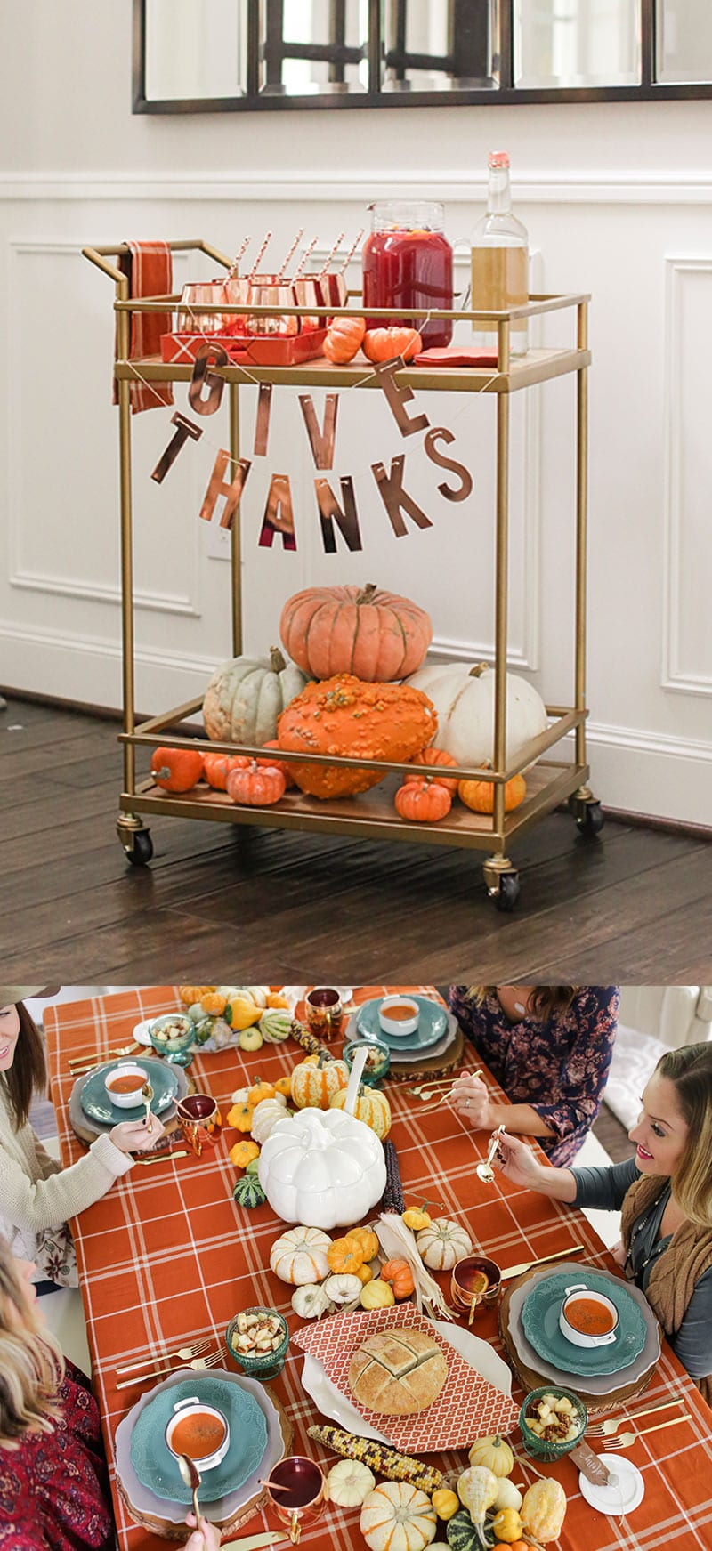 Give Thanks: Fall Party, Bar Cart, & more!
