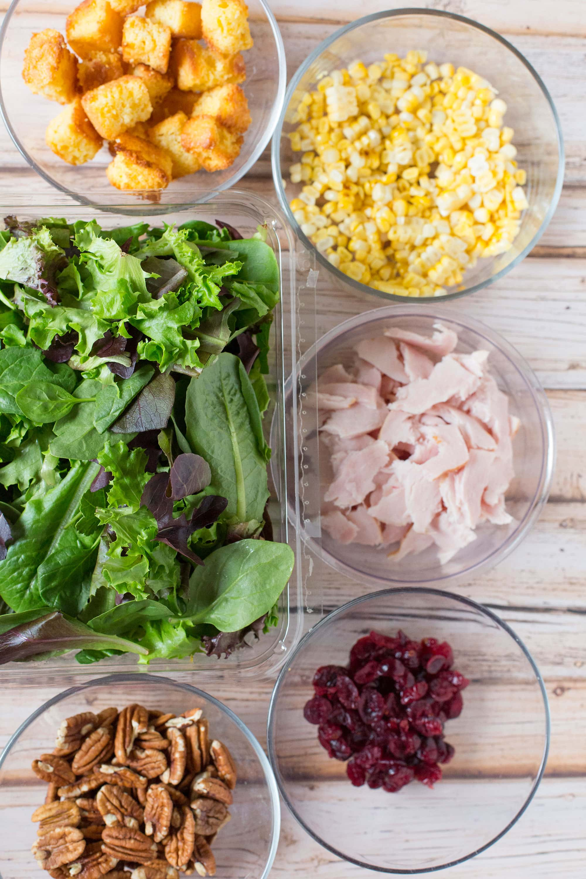 The BEST Leftover Thanksgiving Salad Recipe! We make this EVERY year! Pizzazzerie.com