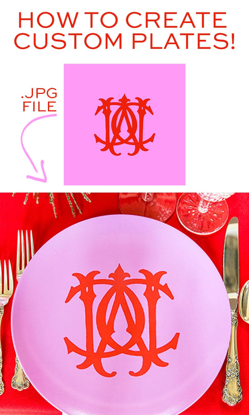 HOW TO CREATE Custom Personalized Plates!