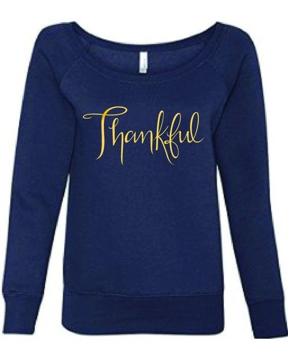 Cozy Thankful Sweatshirt!