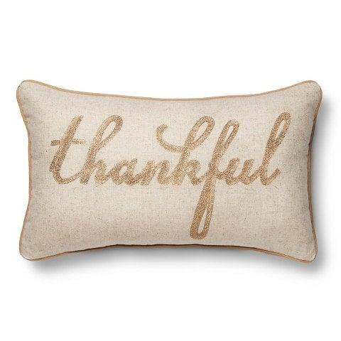 Cute Thankful Pillow