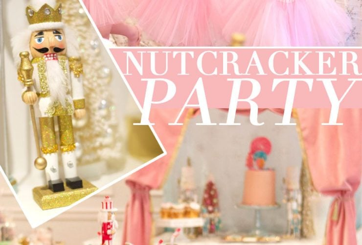 Nutcracker Ballet Inspired Holiday Party
