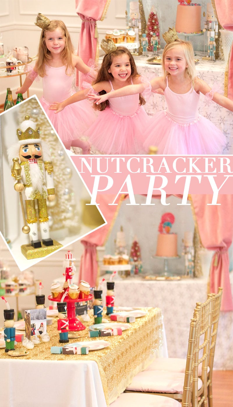 Nutcracker Birthday Party, Tips + Ideas for Throwing a Darling Birthday Party!