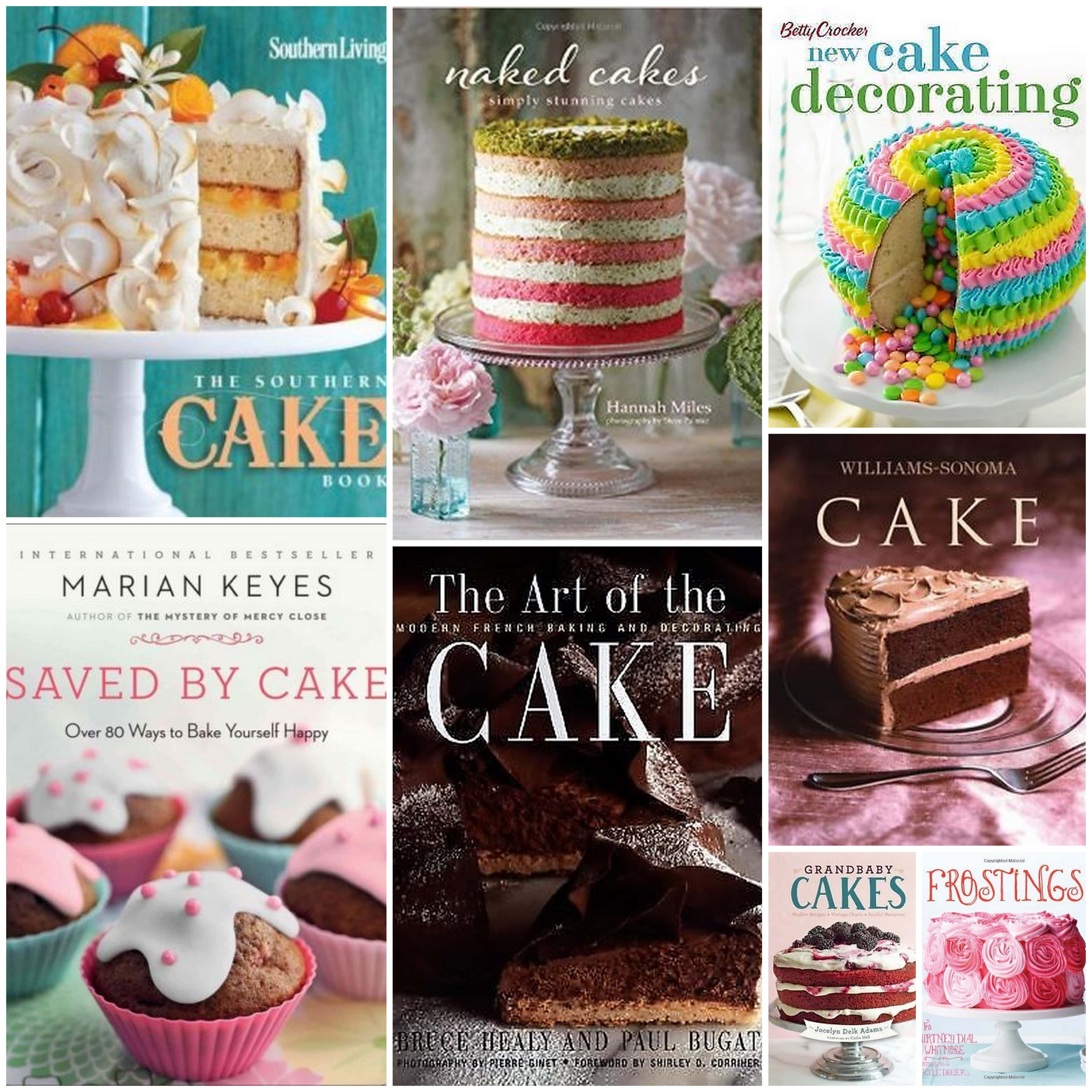 8 Books for the Cake Obsessed!