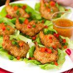 Holiday Appetizer: Coconut Shrimp Lettuce Wraps