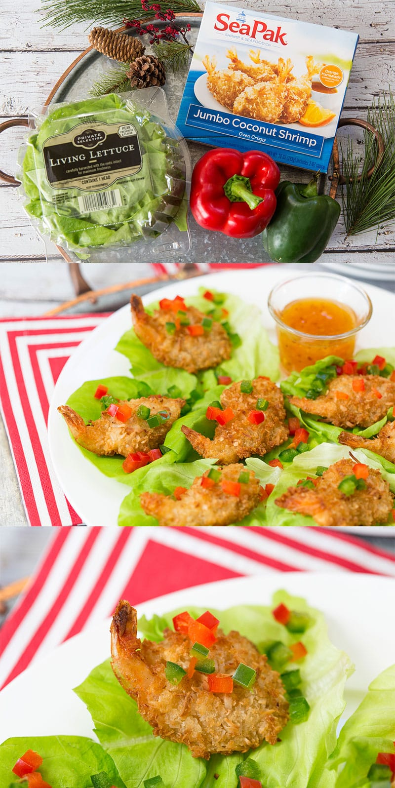 Holiday Appetizer: Recipe for Coconut Shrimp Lettuce Wraps!