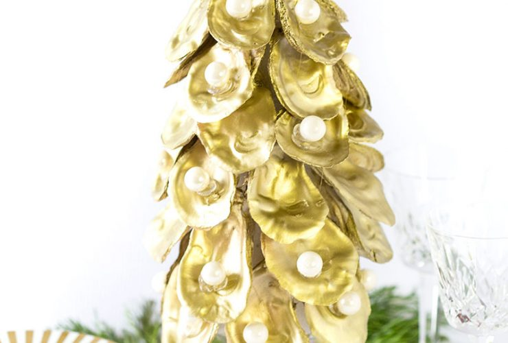 Tutorial: How to Make an Oyster Christmas Tree