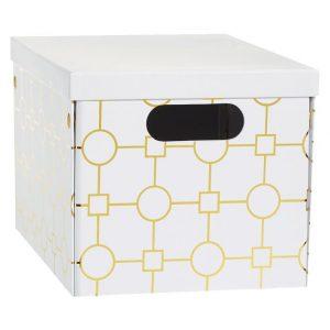 Metallic Storage Box, Organize Your Craft Supplies in Style!
