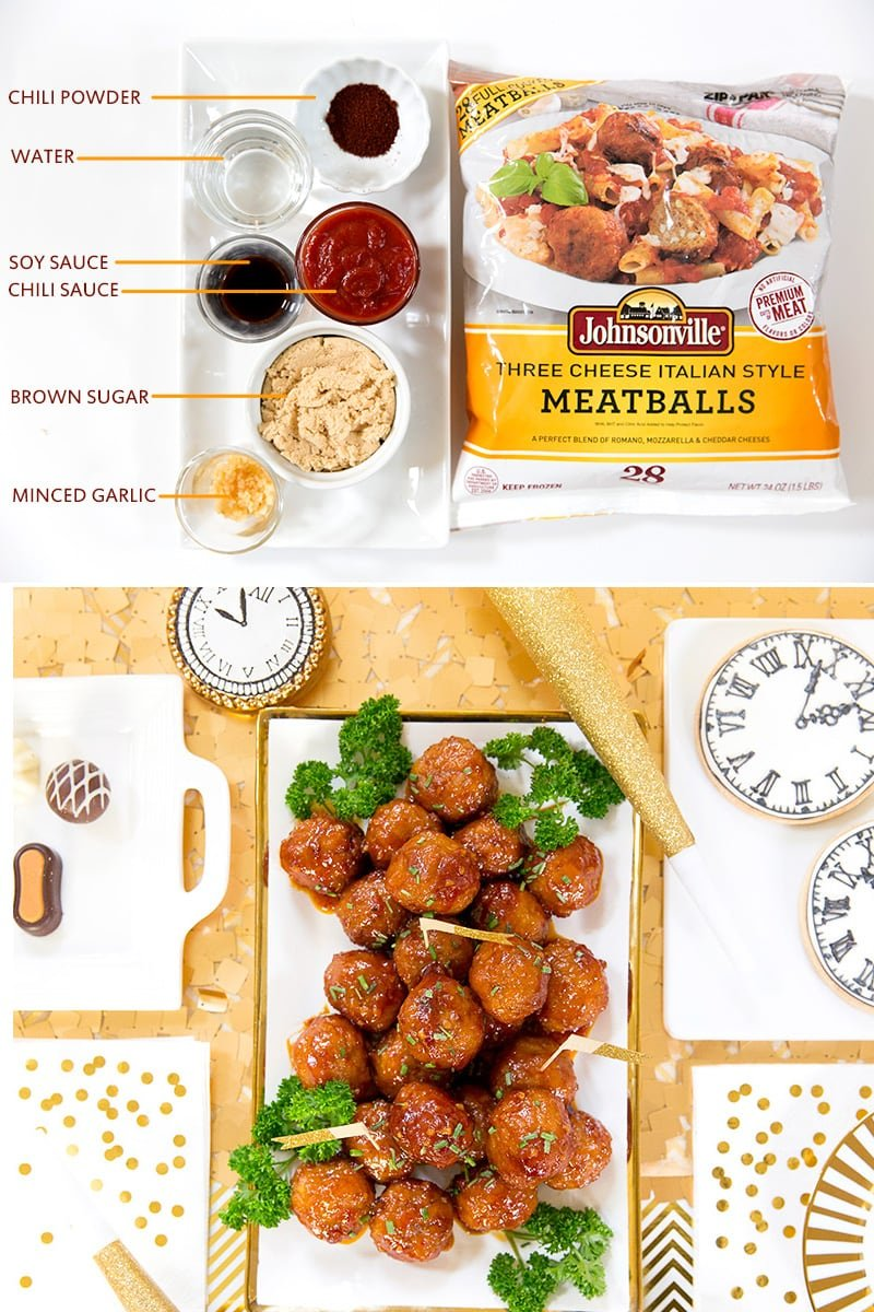 Sweet 'n Spicy Meatballs, Recipe perfect for entertaining!
