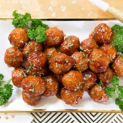 Sweet 'n Spicy Meatballs