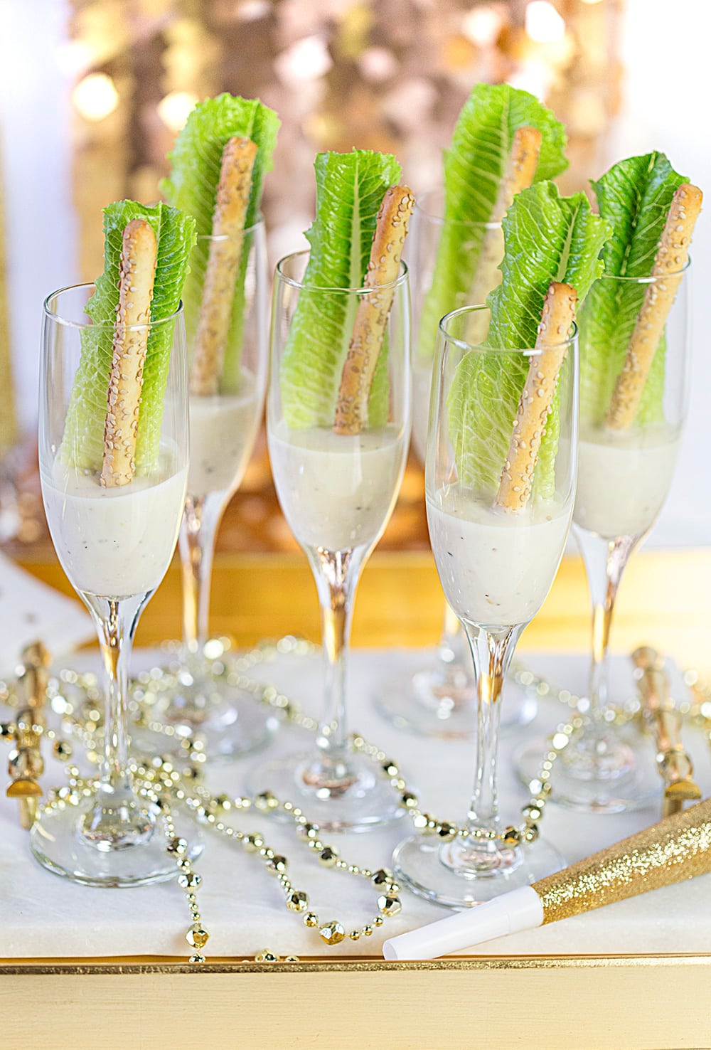 New Year's Eve Champagne Salad Recipe