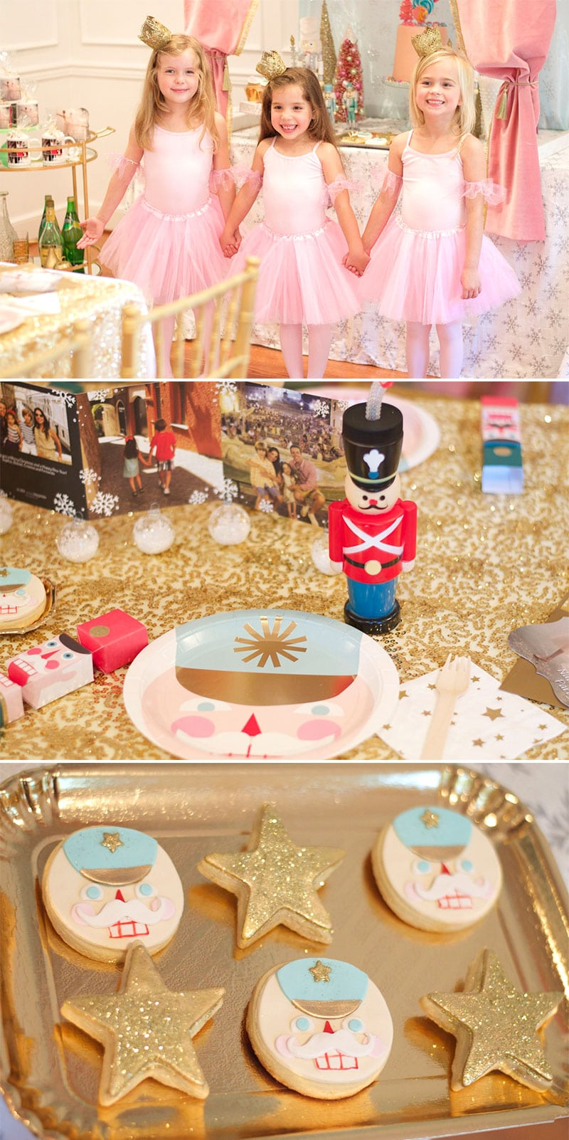 LOTS of ideas for a Nutcracker Ballet Inspired Party!