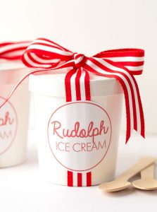 No-Churn Rudolph Ice Cream | Recipe at Pizzazzerie.com