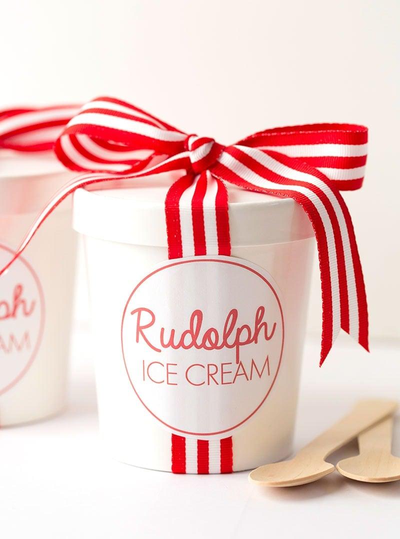 No-Churn Rudolph Ice Cream | Recipe at Pizzazzerie.com