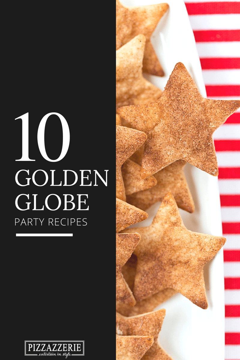 10 Bite Sized Treats Worthy of Your Golden Globes Viewing Party!