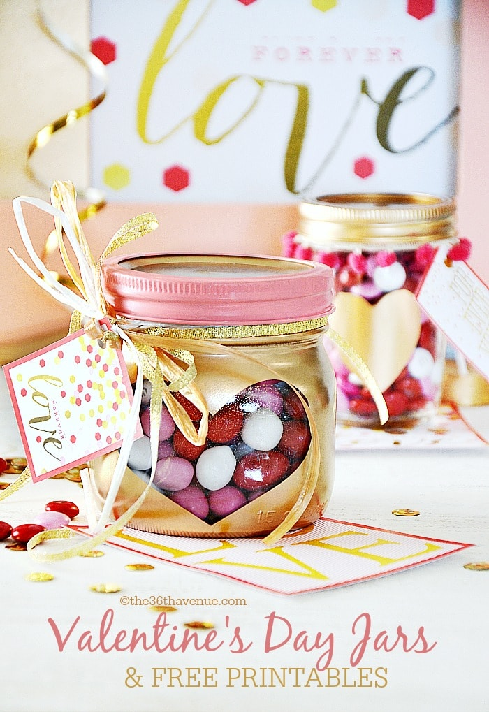 Spray paint ideas for Valentine's Day!