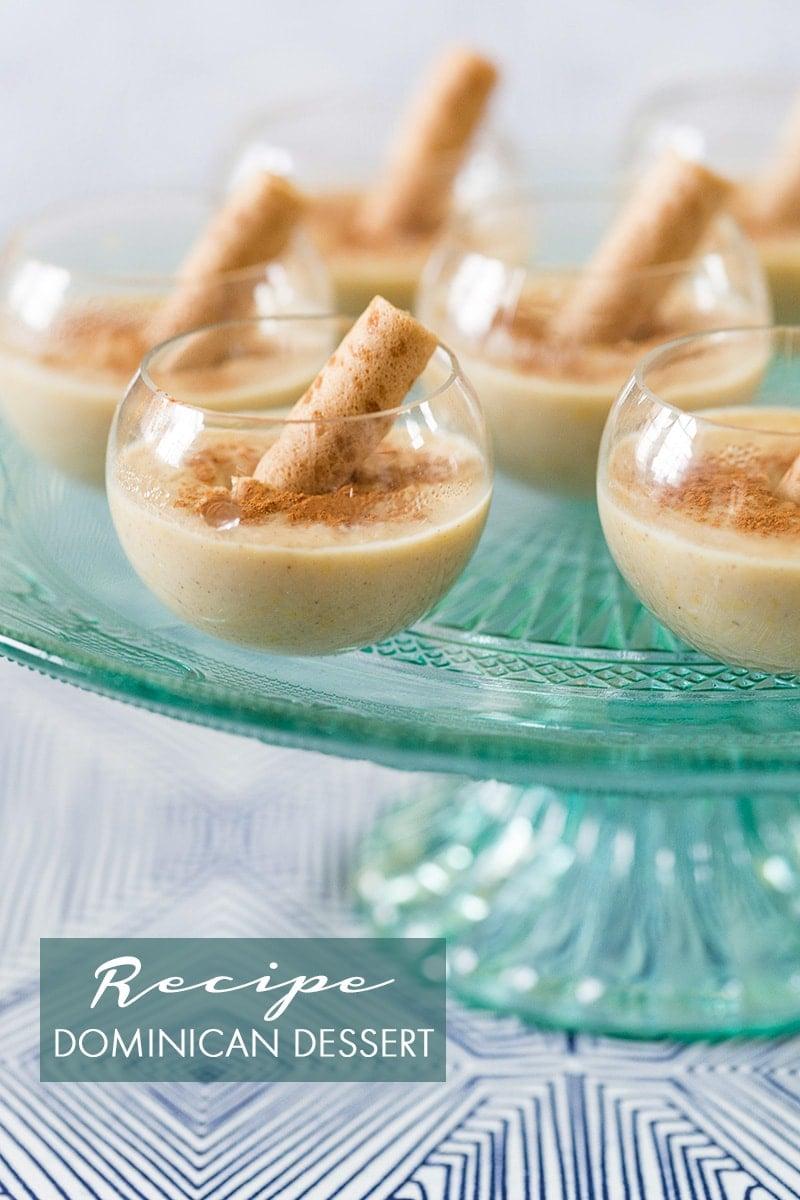 Dominican Republic Dessert: Corn Pudding, Majarete! Pizzazzerie