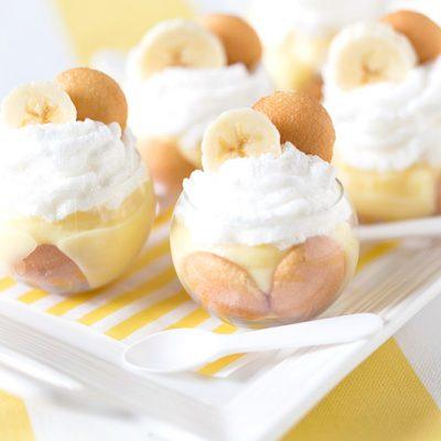 Itty Bitty Mini Banana Pudding Parfaits!