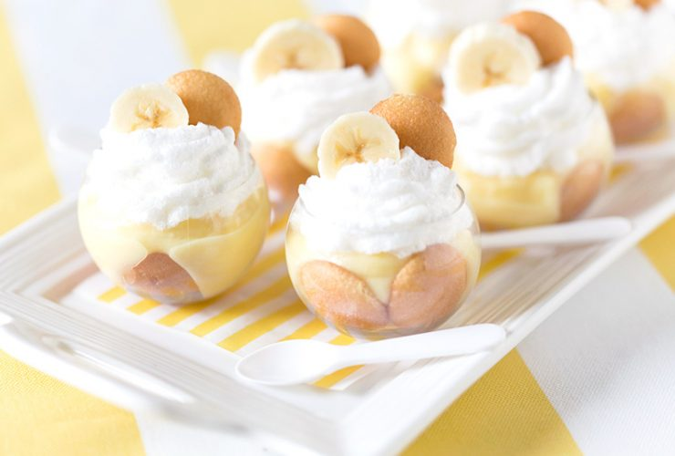 Mini Banana Pudding Parfaits