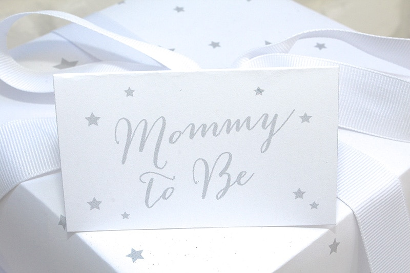 Mommy To Be Shower Sign