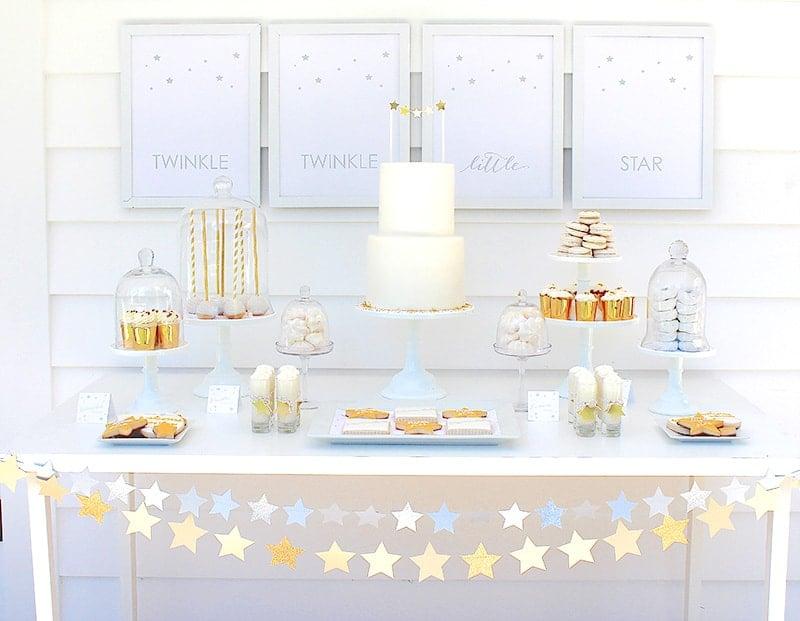 Twinkle Twinkle Baby Shower Inspiration