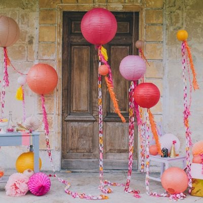 Gorgeous Sherbet Color Scheme for a Party!