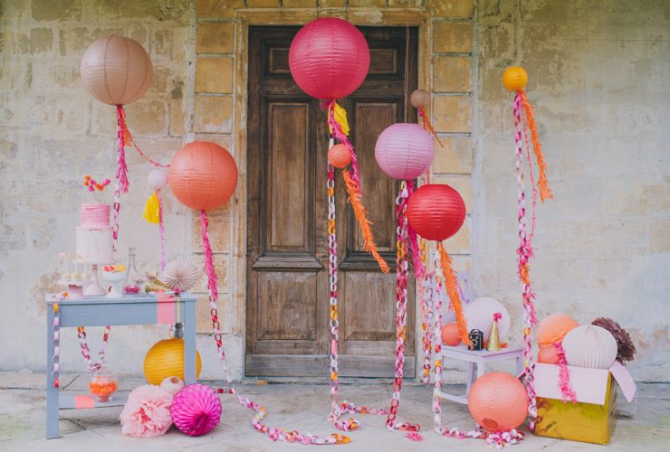 Party Goals: Gorgeous Sherbet Color Scheme!