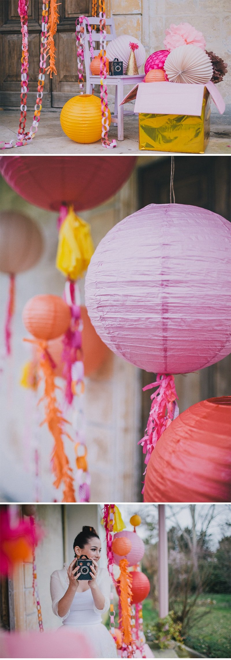 PARTY GOALS: Gorgeous Sherbet Colored Bridal Shower Party