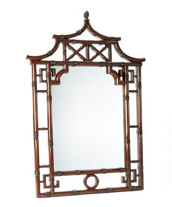 Pagoda Mirror from Zulily