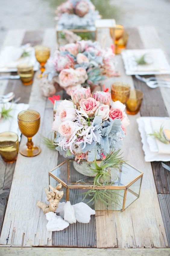 Party Hues: Rose Quartz and Serenity Color Palette