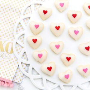 Valentine's Day Heart Petit Fours Recipe!