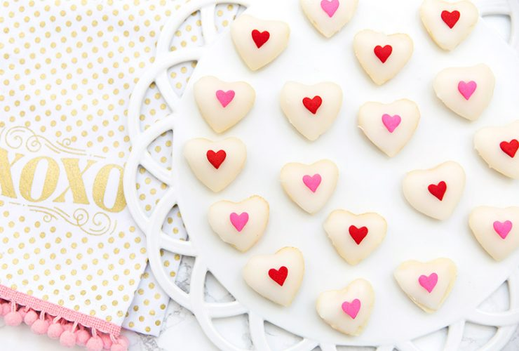 Valentine's Day Recipe: Heart Petit Fours