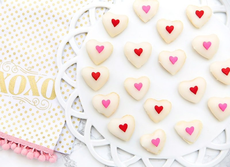 Valentine's Day Heart Petit Fours Recipe!