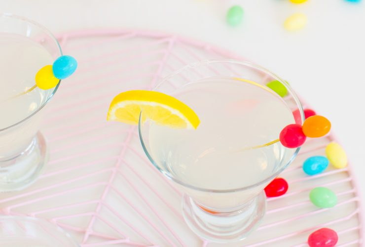 Lemon Drop Sparkletini Recipe