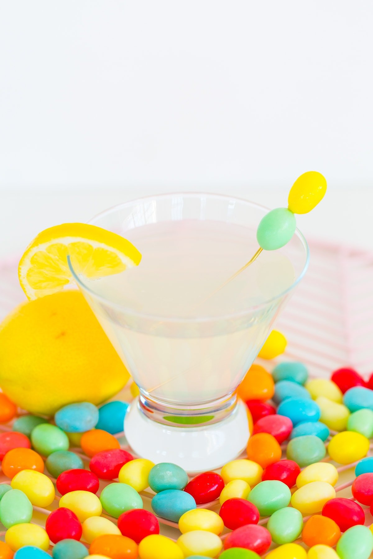 Lemon Drop Sparkle Tinis & Stirrers 1200-18