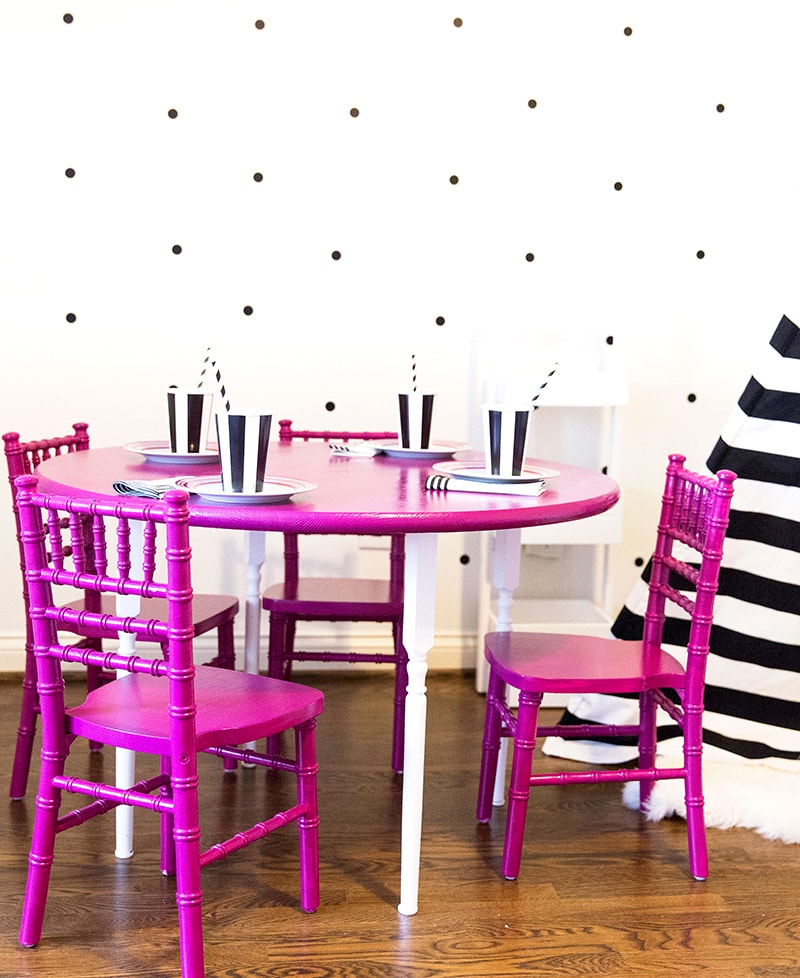 Cute and Colorful Kids Table and Chairs!