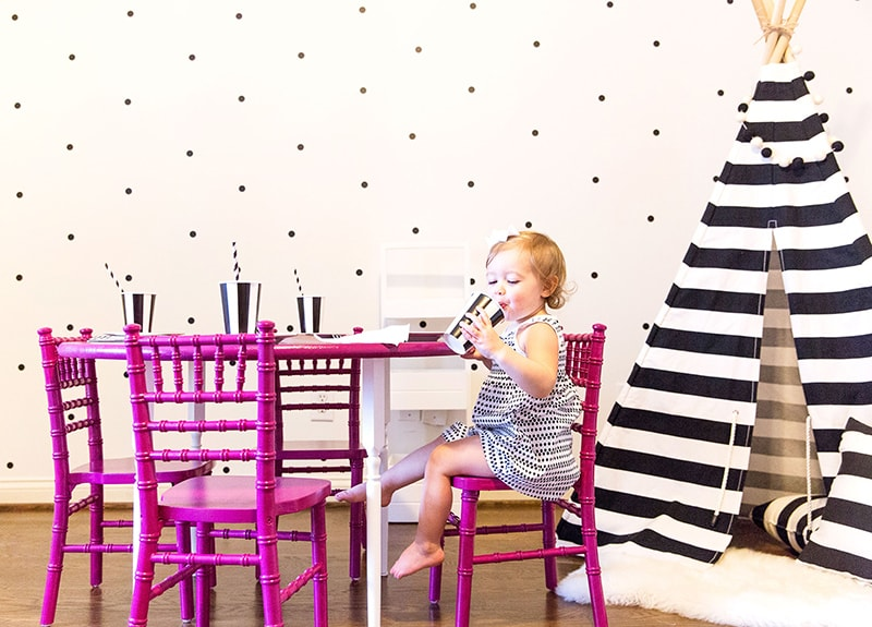 Colorful Kids Table and Chairs