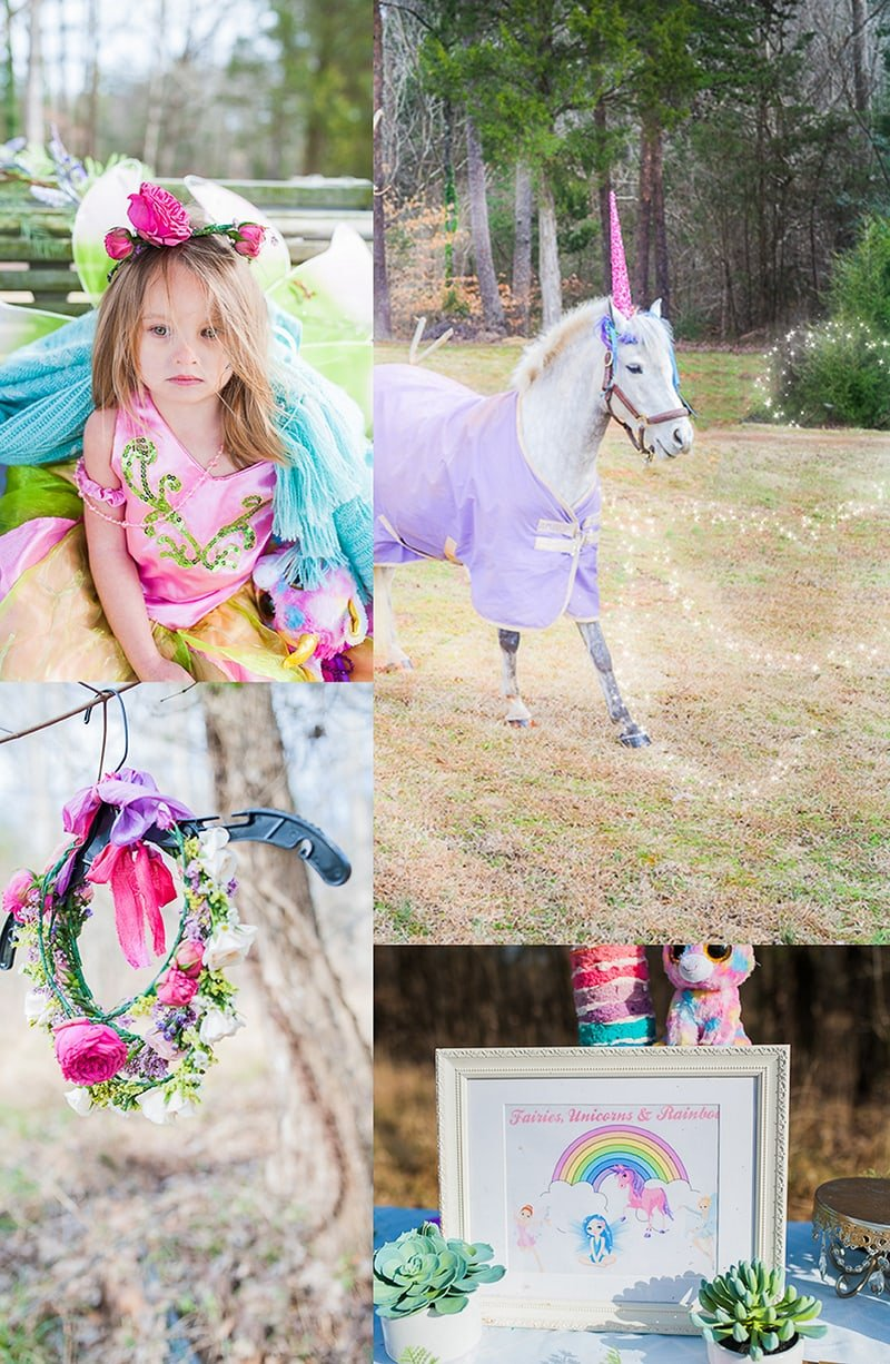Fairies Unicorns and Rainbows Party Ideas