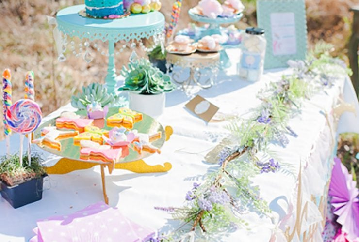 Fairies, Unicorns + Rainbows Party
