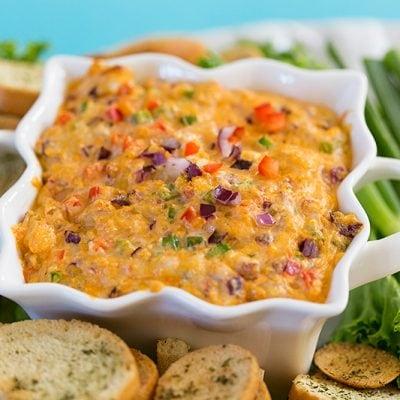 Hot 'n Spicy Shrimp Dip Recipe, perfect party recipe!