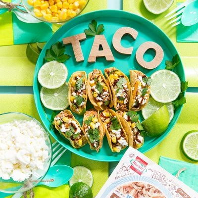 Mini BBQ Chicken Tacos