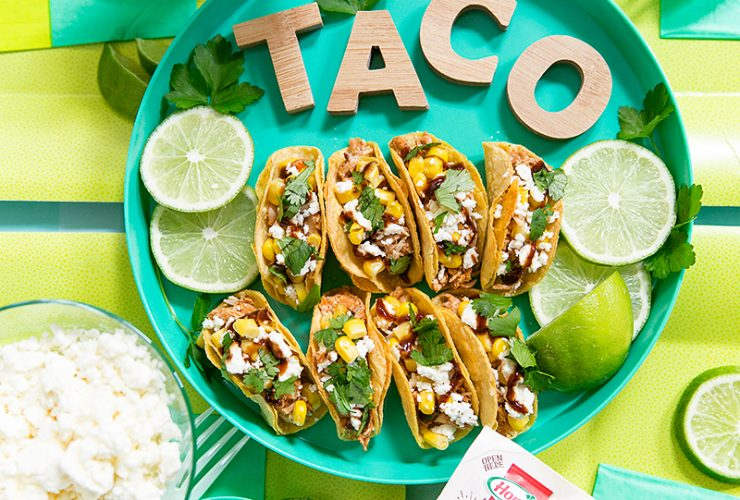 How to Make Mini Tacos: BBQ Chicken Style!