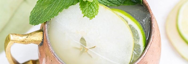 Pear Irish Mule Cocktail