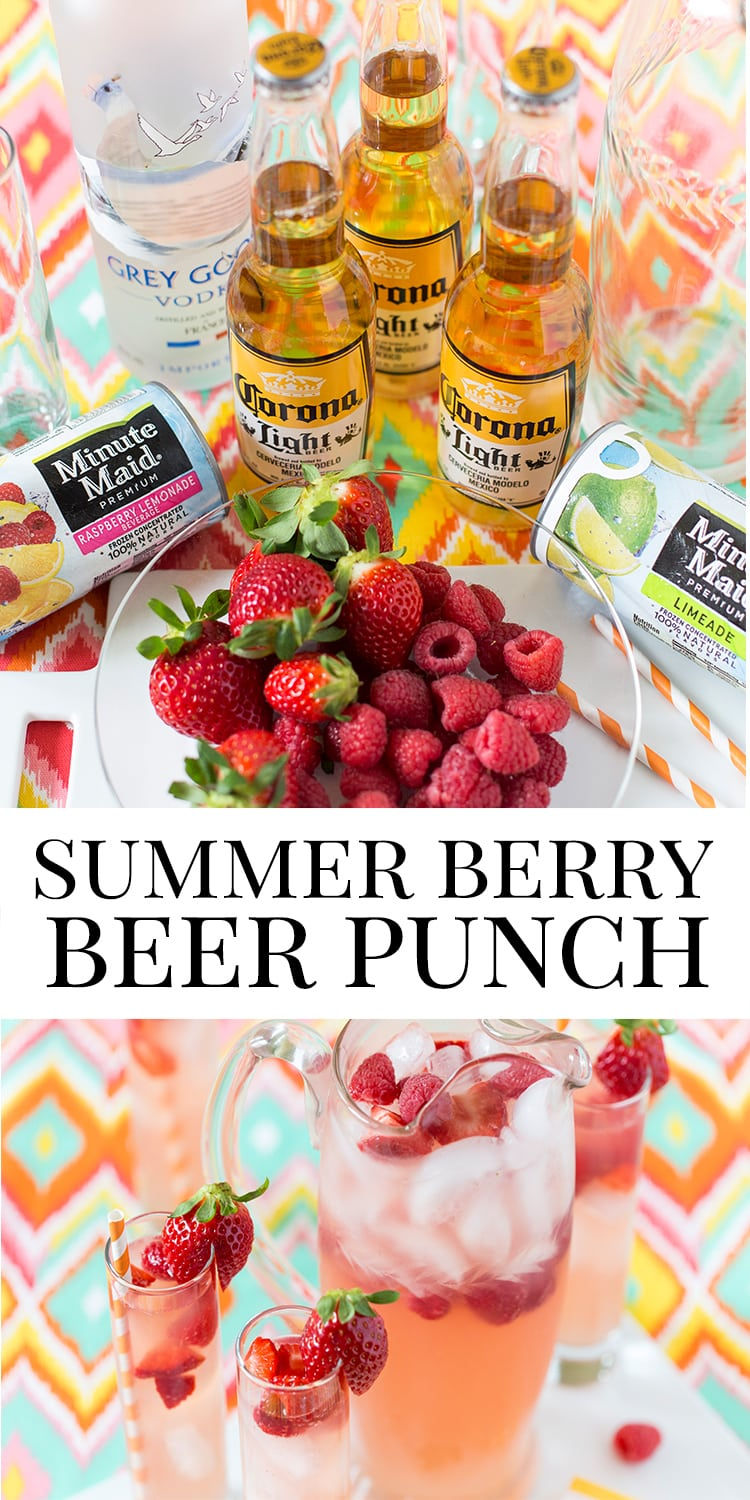 Summer Berry Beer Punch