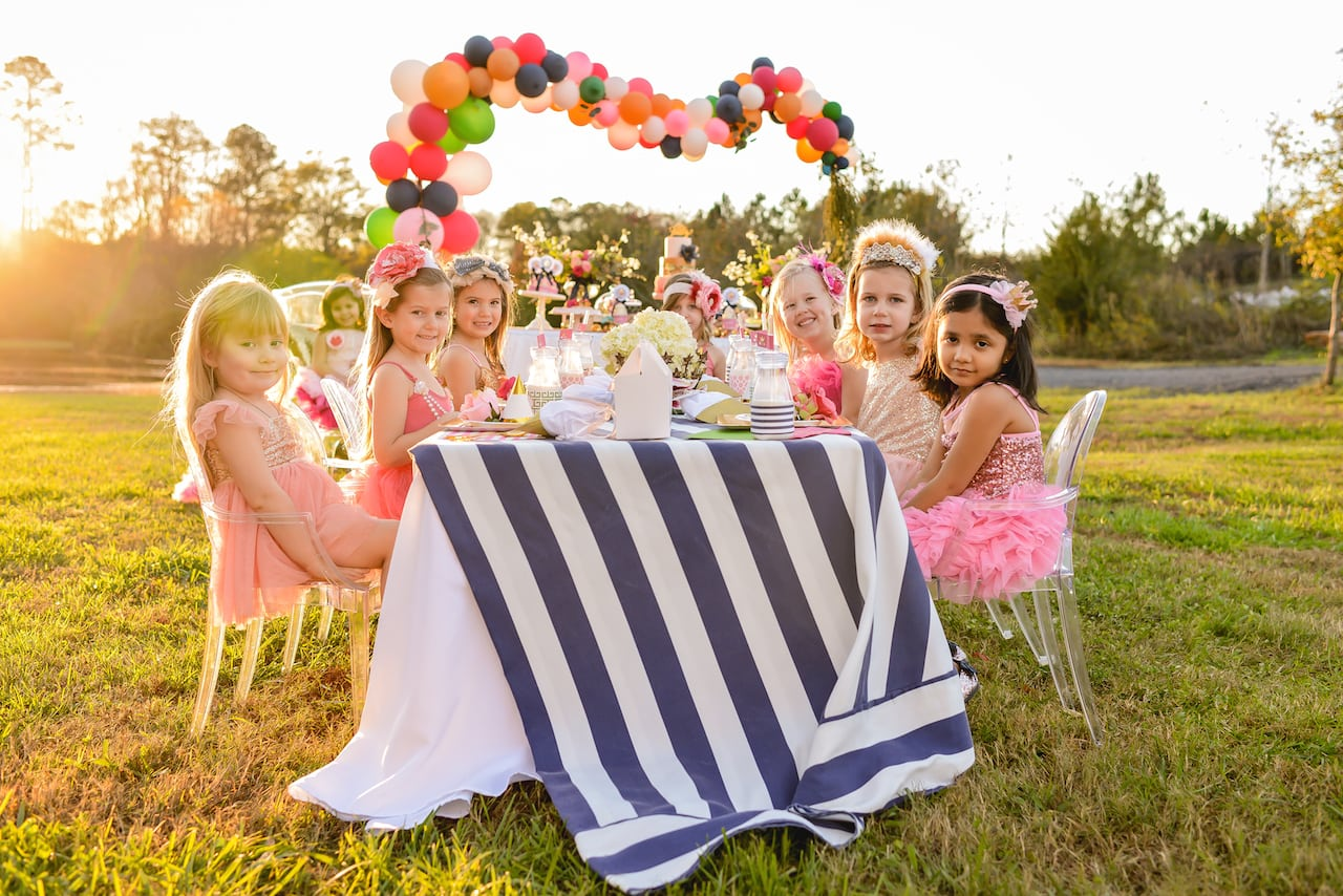 Stylish Girl's Parties, Crated!