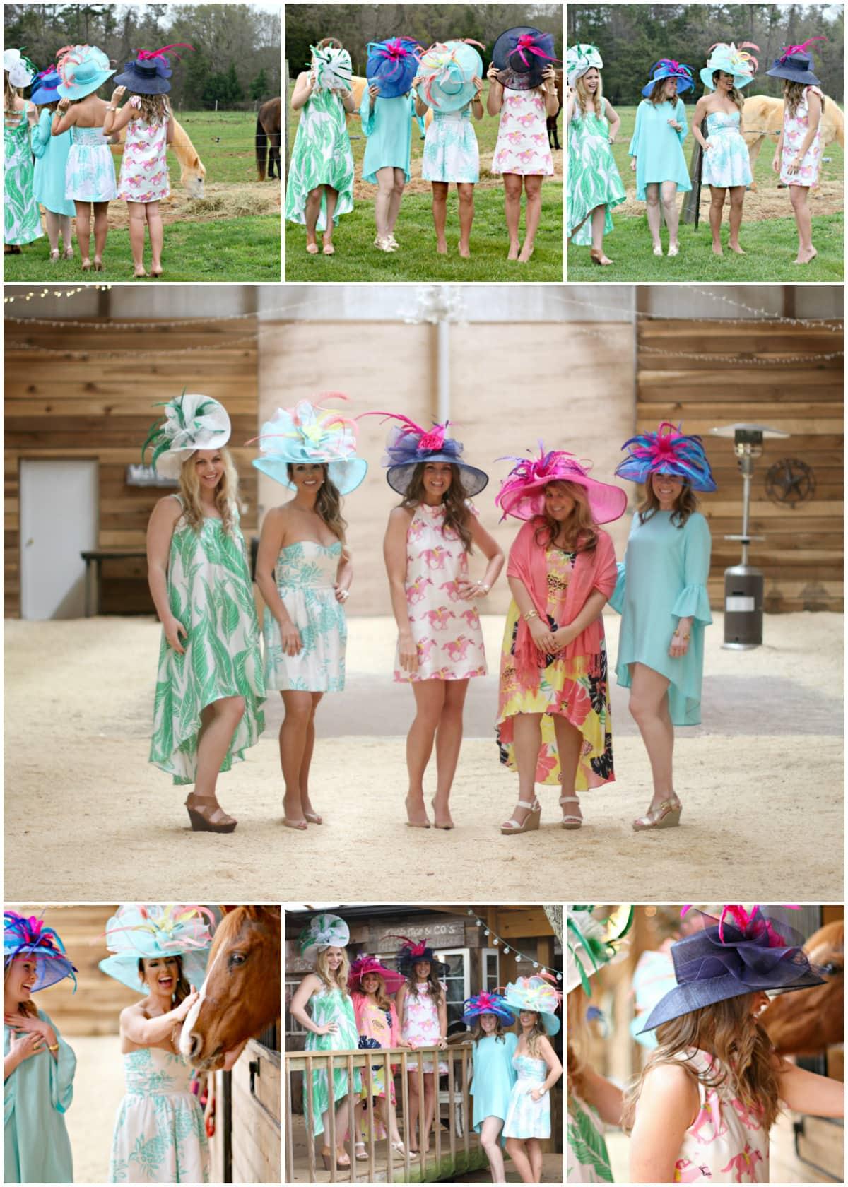 Garden Themed Kentucky Derby Party