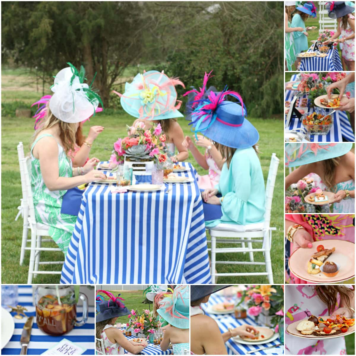 GardenThemed Kentucky Derby Party Pizzazzerie - Children's birthday parties derbyshire